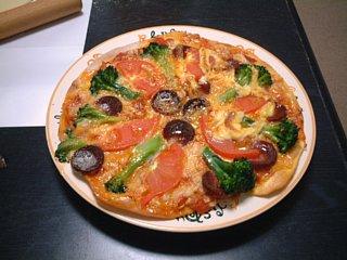 1枚目のピザ