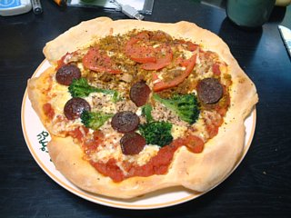 2枚目のピザ