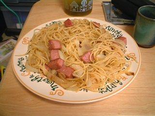 SPAMスパゲティー