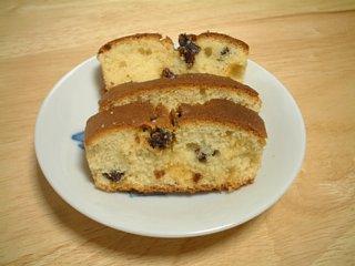 薄っぺらパウンドケーキ