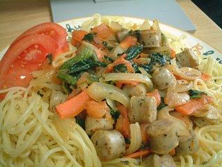中華トマトスパゲティー