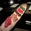 握り寿司 流木盛り